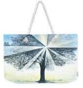 enchanced Tree Light Weekender Tote Bag