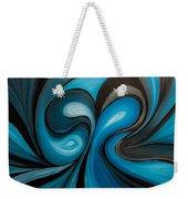 Enchanted Blue Waves Weekender Tote Bag