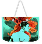 Enchanted Boy With Lilies Weekender Tote Bag