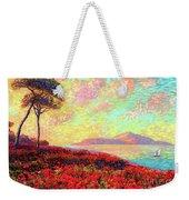 Enchanted By Poppies Weekender Tote Bag