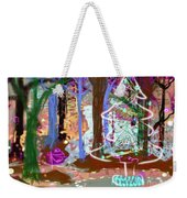 Enchanted Christmas Forest Weekender Tote Bag