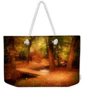 Enchanted Path - Allaire State Park Weekender Tote Bag