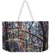 Enchanted Woods Weekender Tote Bag