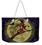 Enchanting Halloween Witch Weekender Tote Bag