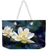 Enchanting Lotus Weekender Tote Bag