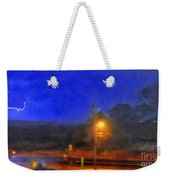 Encroaching Lightning Weekender Tote Bag
