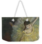 End Of An Arabesque Weekender Tote Bag by Edgar Degas