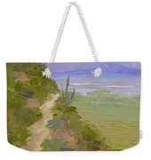 End Of Day At Gates Pass Weekender Tote Bag