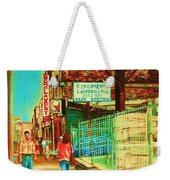 End Of Days Weekender Tote Bag