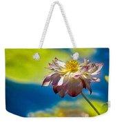 End Of Summer Lotus Weekender Tote Bag