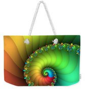 End Of The Rainbow Weekender Tote Bag