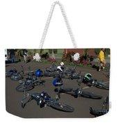 End Of The Ride Weekender Tote Bag