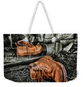 End Of The Road Weekender Tote Bag