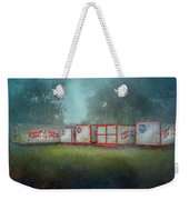 End Of The Show Weekender Tote Bag