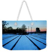 End Of The Tracks Weekender Tote Bag
