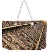 End Of The Tracks Weekender Tote Bag