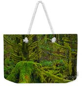 Endless Green Weekender Tote Bag