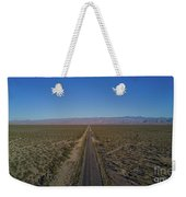 Endless Road Aerial  Weekender Tote Bag
