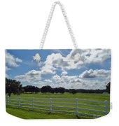 Endless Sky At The Farm Weekender Tote Bag