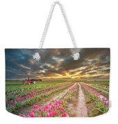 Endless Tulip Field Weekender Tote Bag
