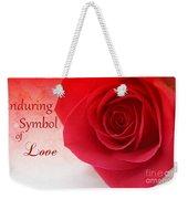 Enduring Symbol Of Love Weekender Tote Bag