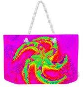 Energetic Bold Colors Starfish Weekender Tote Bag