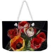 Energetic Tulips Weekender Tote Bag