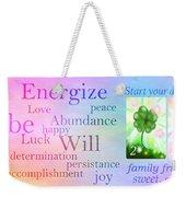 Energize Weekender Tote Bag