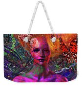Energy Meridian Weekender Tote Bag by Joseph Mosley