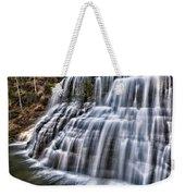 Lower Falls #4 Weekender Tote Bag
