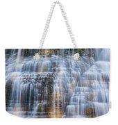 Lower Falls Cascade #1 Weekender Tote Bag