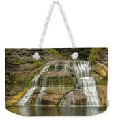 Enfield Falls Tompkins County New York Weekender Tote Bag