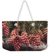 Engelmann Spruce Cones Weekender Tote Bag