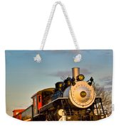 Engine 509 At Crossville Tennessee Puffing Weekender Tote Bag