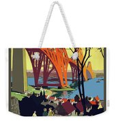 England And Scotland, Bridge Weekender Tote Bag