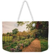 England - Country Garden And Flowers Weekender Tote Bag