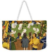 England: Court, 15th Century Weekender Tote Bag