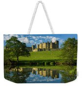 England, Northumberland, Alnwick Castle Weekender Tote Bag