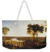 England, Richmond Hill, On The Prince Regent's Birthday Weekender Tote Bag