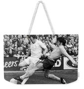 England: Soccer Match, 1972 Weekender Tote Bag by Granger
