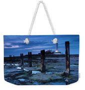England, Tyne And Wear, St Marys Lighthouse Weekender Tote Bag