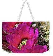 Engleman's Hedgehog Cactus  Weekender Tote Bag