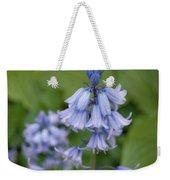 English Bluebell Weekender Tote Bag