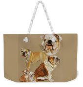 English Bulldog Weekender Tote Bag
