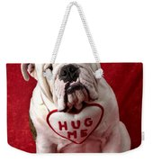 English Bulldog Weekender Tote Bag