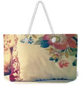 English Chintz With Green Tone Weekender Tote Bag