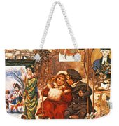English Christmas Cards Weekender Tote Bag