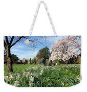 English Country Garden Weekender Tote Bag