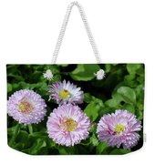 English Daisies Weekender Tote Bag