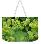 English Ladys Mantle Weekender Tote Bag